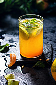 Orange and mint sharbat