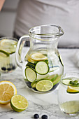 Fresh cold infused water