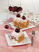 Frankfurt-style cherry cakes