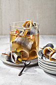 Homemade chilli and ginger herring