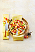 Tomato Parmesan Tart