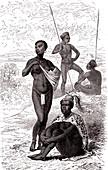 Kytch Chief, 19th Century illustration