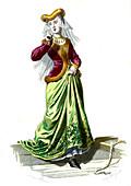 French Renaissance theatre, 19th Century illustration
