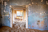 Abandoned building in ghost tow, Namibia