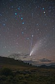 Comet Neowise over White Mountain Peak, California, USA