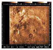 Mariner crater on Mars, Mariner 4 image