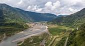 Coca Codo Sinclair hydroelectric dam, August 2020