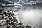 Glacial waterfall, Dettifoss, Iceland