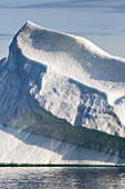 Majestic iceberg formation Greenland