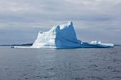 Majestic iceberg formation over Atlantic Ocean Greenland