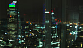 View of London highrises, London, United Kingdom