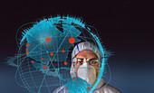 Scientist behind global coronavirus outbreak