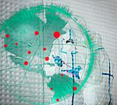 Scientists researching coronavirus