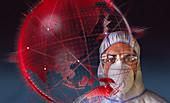 Scientist behind global coronavirus pandemic
