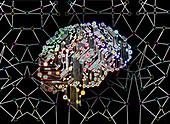 Artificial intelligence, conceptual illustration