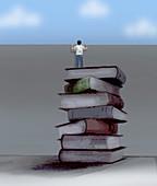 Education, conceptual illustration