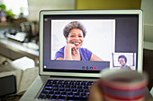 Point of view women video conferencing