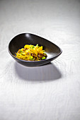 Tagliatelle with duck ragout and oranges
