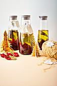 Spiced oil as a Christmas present