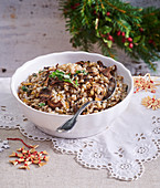 Christmas hulled barley called Cuba