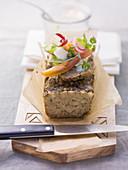 Oven-roasted liver meatloaf