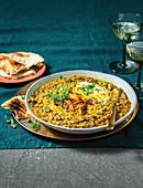 Indian cauli and mung bean kitchari