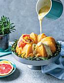Citrus and rosemary yoghurt cake