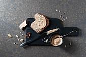 Schokoladenbrot mit Mandelcreme