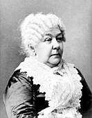 Elizabeth Cady Stanton, US abolitionist and suffragette