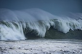 Wave formation during a winter storm