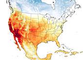 California heatwave, September 2020