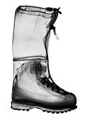 Mountaineering boot, X-ray