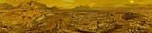 Venus Surface Panorama