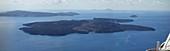 Nea Kameni island, Santorini, Greece