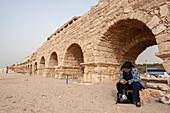 Roman aqueduct, Caesarea Maritima, Israel