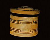 Woven Basket, Tlingit Tribe