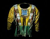 Men's Warrior Shirt, Lakota Tribe