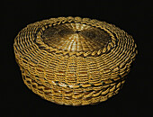 Basket with Cover, Seneca Tribe