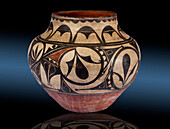 Polychrome Jar, Zia Pueblo, c. 1880