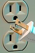 Polarized Plug and Wall Socket