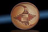 Polychrome Bowl, Hopi-Tewa