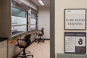 Chemical Fume Hood in Laboratory
