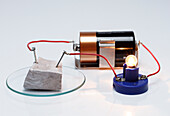 Sodium conducts electricity