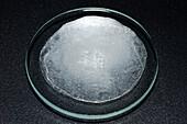 Hard water evaporation residue