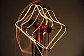 Glowing Lightbulb Filament