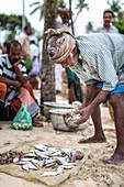 Fishermen in Kerala, India