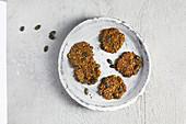 Seeded crackers (sugar free)