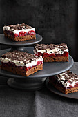 Black Forest Gateau tray bake