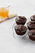Chocolate-orange muffins