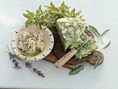 Sage cheese and sage butter